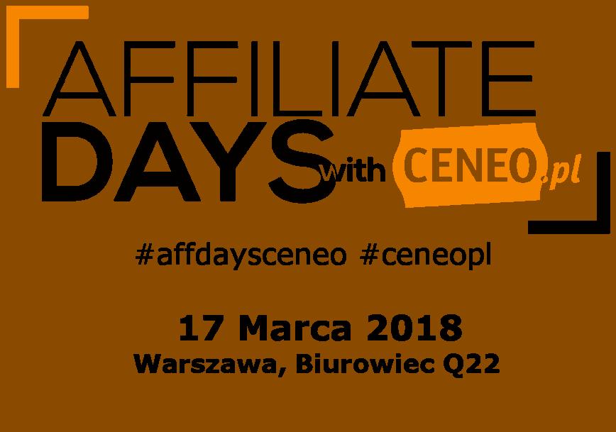 3 Edycja Affiliate Days with Ceneo 2018