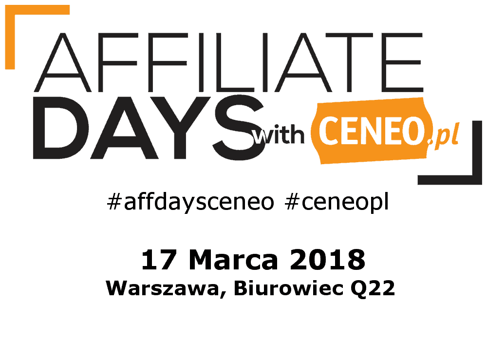 3 Edycja Affiliate Days with Ceneo 2018 1