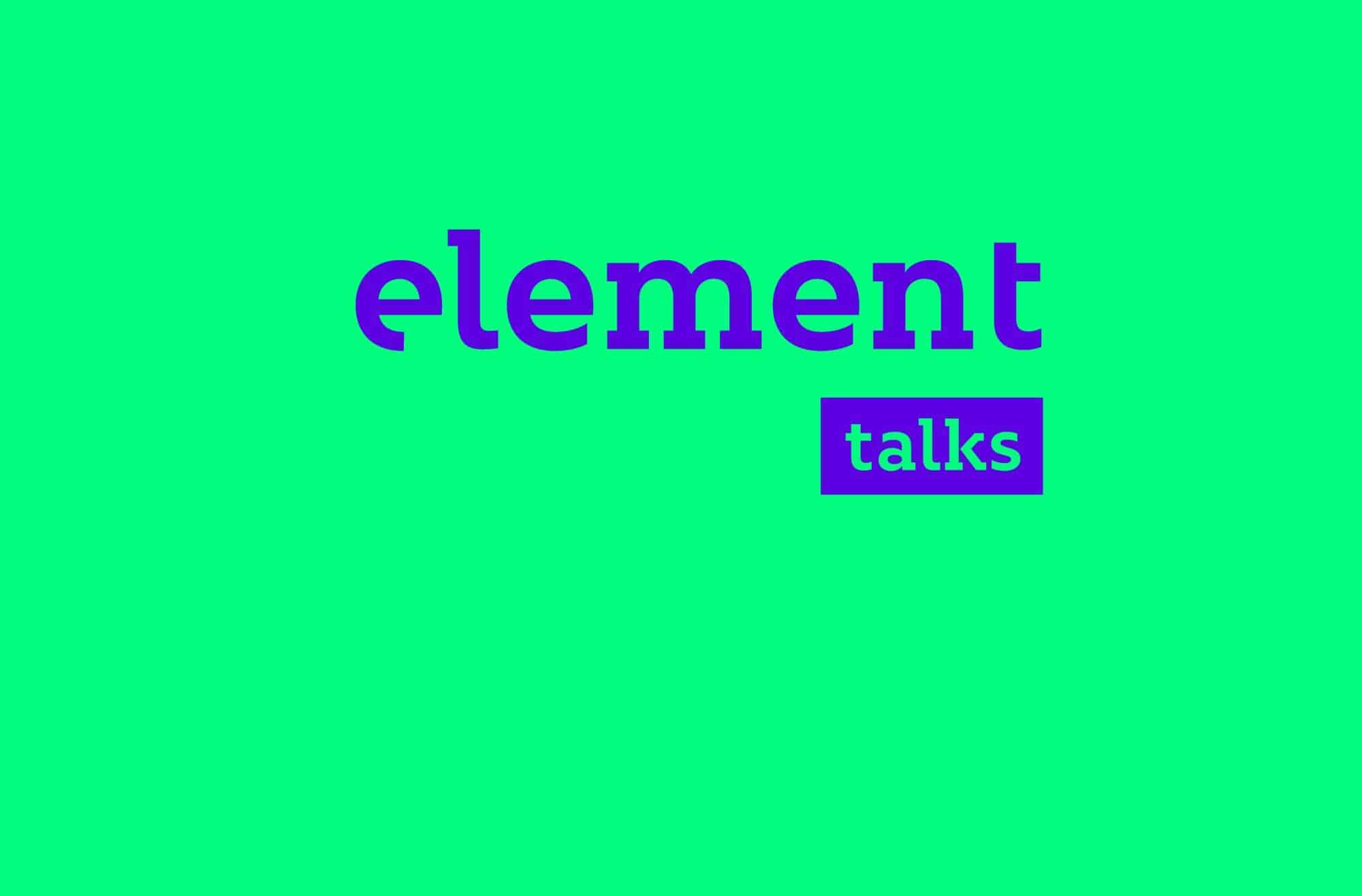 Element Talks 2018 6