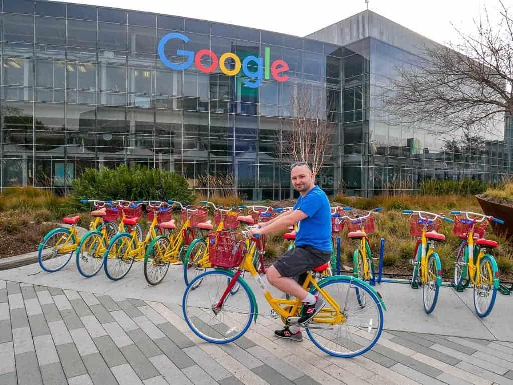 Siedziba Google, Mountain View, Kalifornia, Stany Zjednoczone