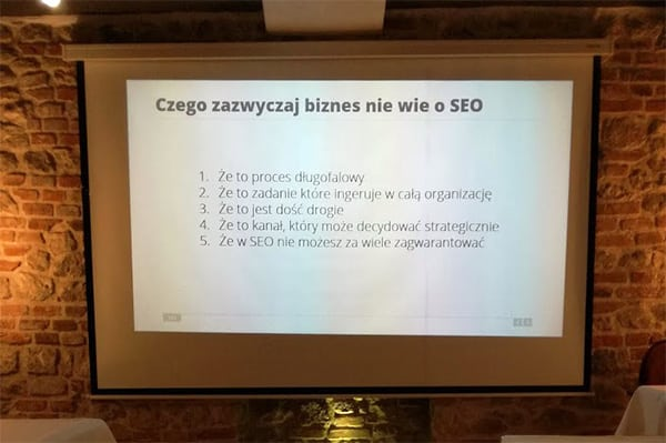 Szkolenie SEOtour Kraków - Grzegorz Strzelec